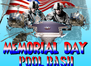 Memorial Day Pool Bash
