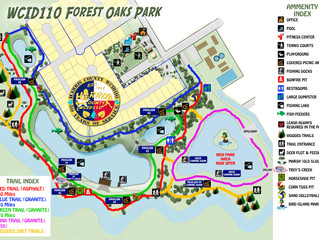UPDATED Forest Oaks Park Map