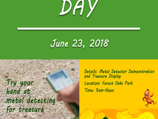 """Metal Detecting """"Family"""" Demo Event"""