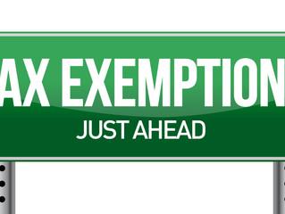 WCID110 TAX EXEMPTIONS