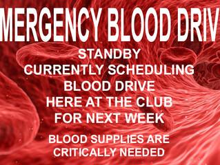 WCID110 Blood Drive Coming Soon