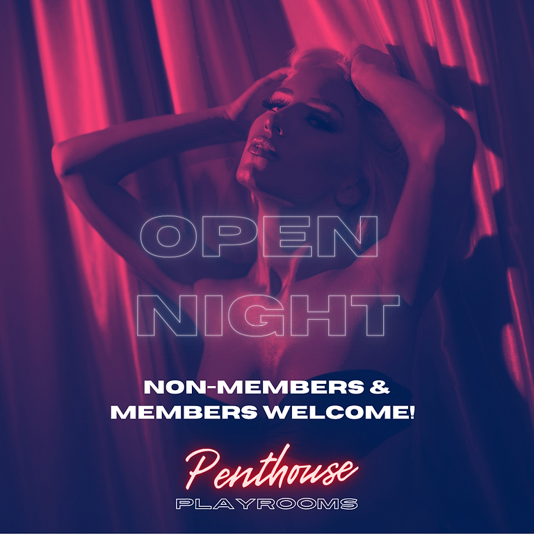 OPEN NIGHT | Non-Members and Members Welcome! @ Penthouse Playrooms