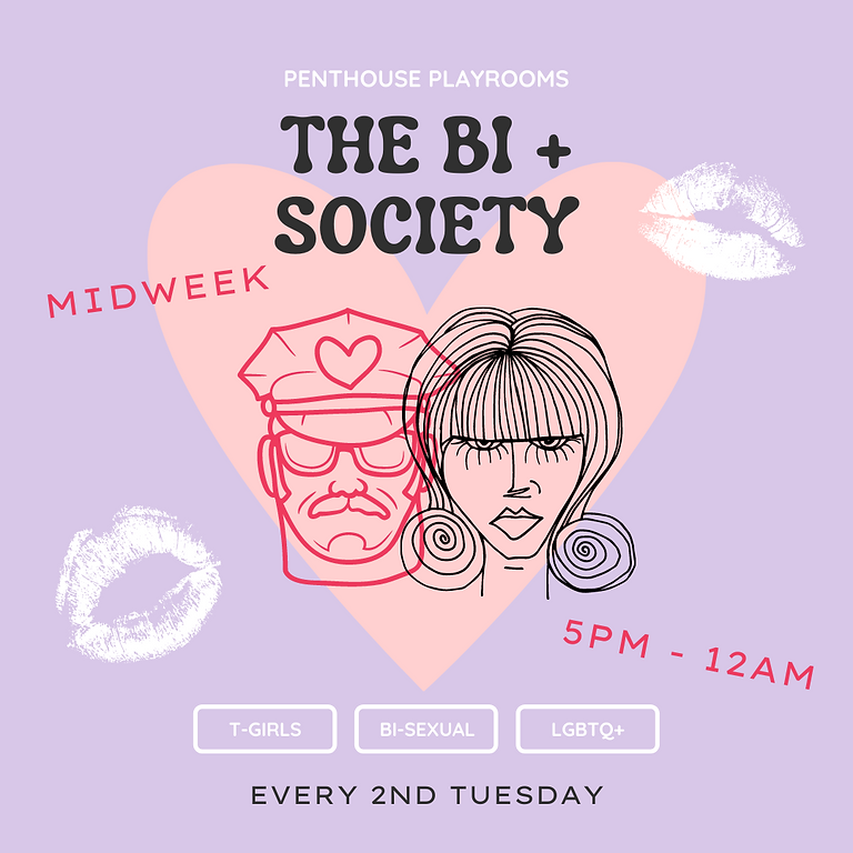 THE BI+ SOCIETY | Midweek Play Date 🦄