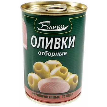 """Оливки без косточек с тунцом ТМ """"Барко"""""""