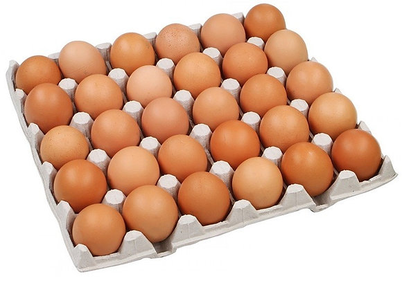 Яйцо столовое. Цвет зависит от наличия на складе.