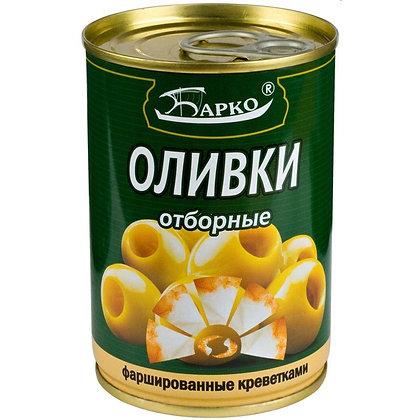 """Оливки без косточек с креветкой ТМ """"Барко"""""""