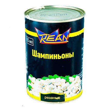 """Шампиньоны резаные консервированные ТМ """"Rean"""""""
