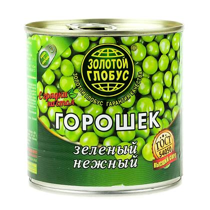 """Горошек зеленый ТМ """"Золотой глобус"""" ж/б"""