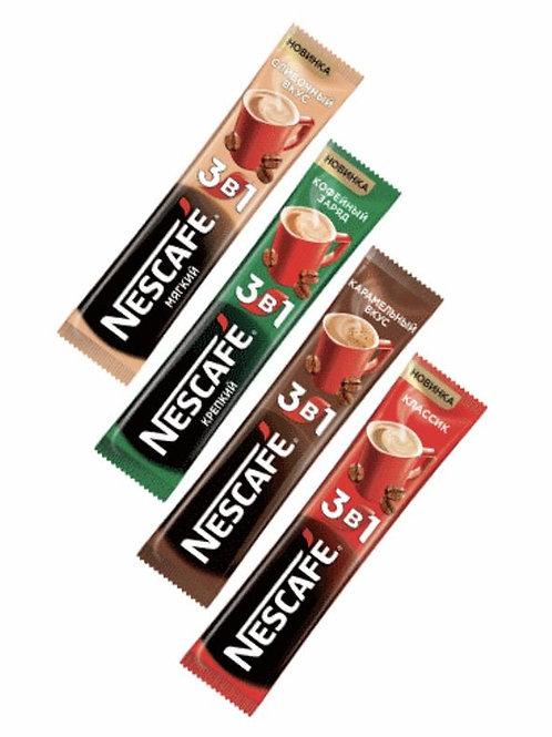 Кофе 3 в 1 Nescafe в ассортименте