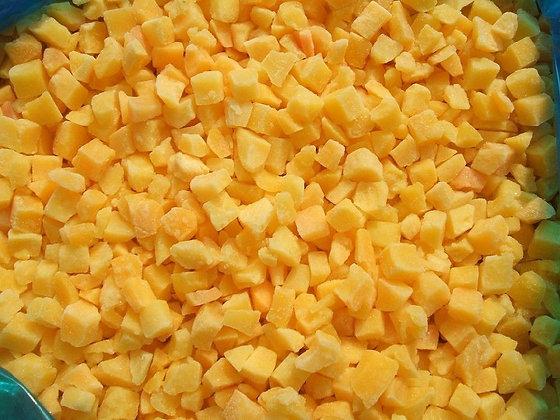 Персик кубик