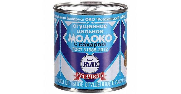 """Молоко сгущенное ж/б 380 грамм ТМ """"Рогачевъ"""""""