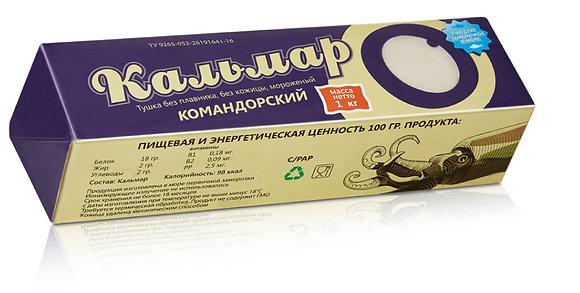 Филе кальмара. Фасованный товар.