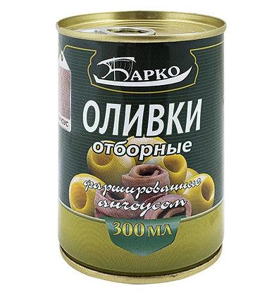 "Оливки без косточек с анчоусом ТМ ""Барко"""