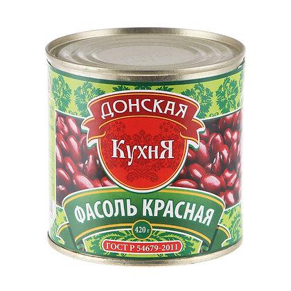 """Фасоль красная натуральная ТМ """"Донская кухня"""""""