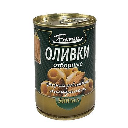 "Оливки без косточек с миндалем ТМ ""Барко"""