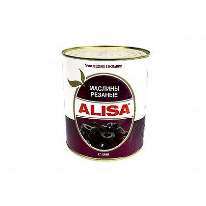 """Маслины без косточек резанные ТМ """"Alisa"""""""