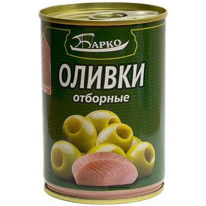 """Оливки без косточек с лососем ТМ """"Барко"""""""