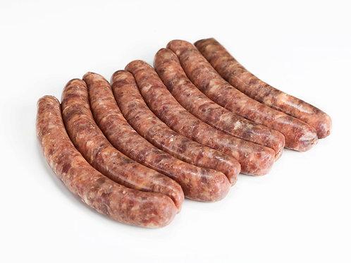 Колбаски мясные замороженные в ассортименте