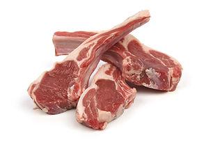 Мясо баранина и мясо кролика
