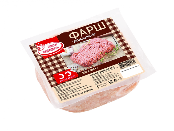 Фарш Домашний свино-говяжий