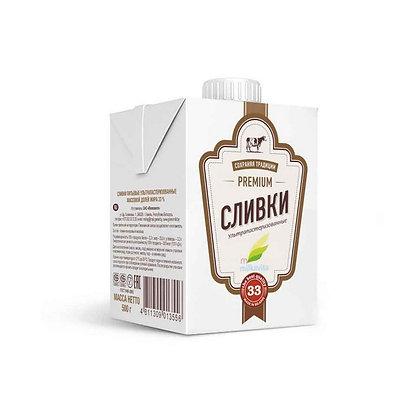 """Сливки ТМ """"Милкавита"""" 0,5 литра"""