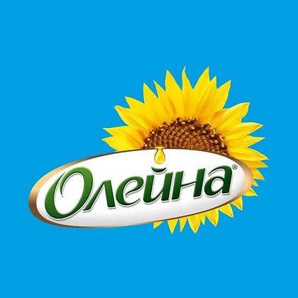"""Масло подсолнечное рафинированное ТМ """"Олейна"""""""