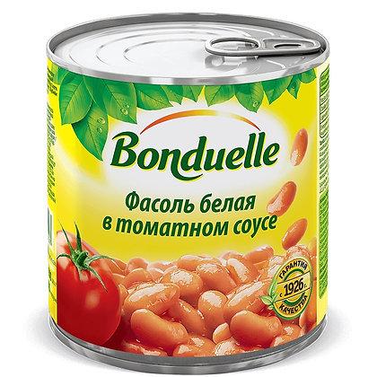"""Фасоль белая в томатном соусе ТМ """"Bonduelle"""""""
