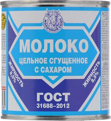 """Молоко сгущенное ТМ """"Мясной союз"""" 380 гр"""