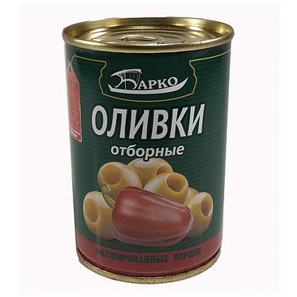 """Оливки без косточек с перцем ТМ """"Барко"""""""