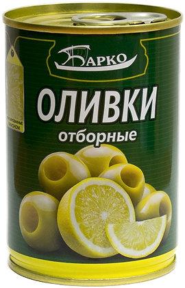 """Оливки без косточек с лимоном ТМ """"Барко"""""""