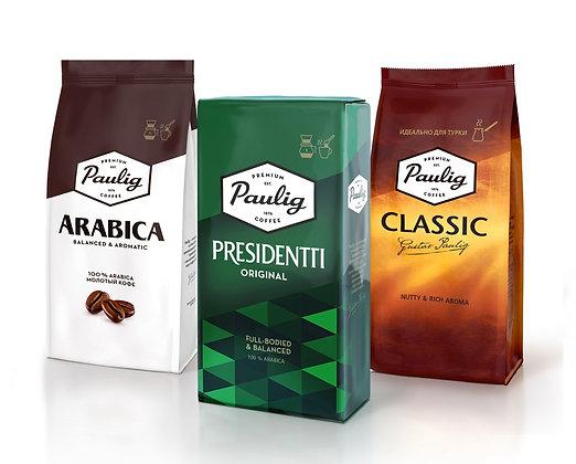 """Кофе зерновой ТМ """"Paulig"""""""