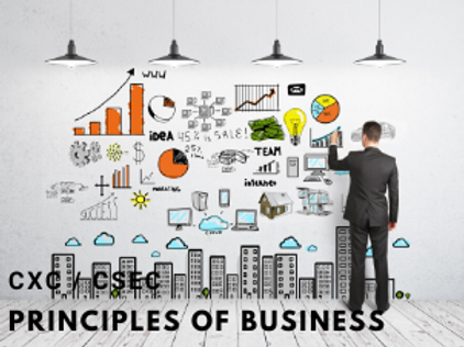 CSEC Principles of Business - POB (Monthly) Form 4 to 5