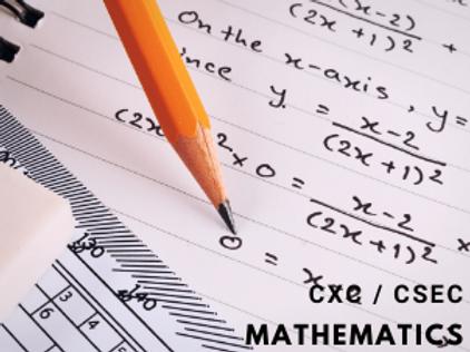 CSEC Mathematics (Monthly) Form 1 to 5