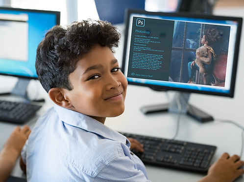Introduction to Adobe Photoshop for Kids