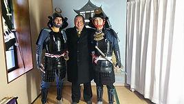 ニューハンプシャーと名古屋からのお客様と一緒に