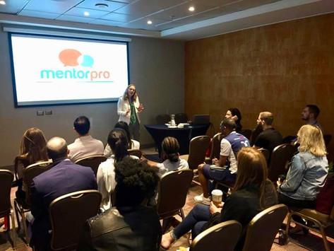 MentorPro expone en el Columbia Global Center