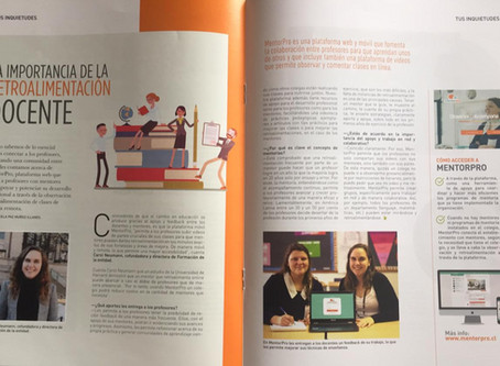 MentorPro en Revista Educar