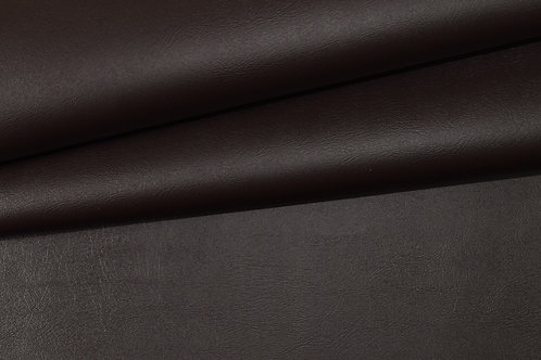 Vegan Leather Fabric - Dark Chocolate