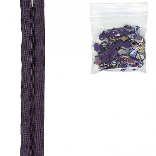 240 - Eggplant Handbag Zipper