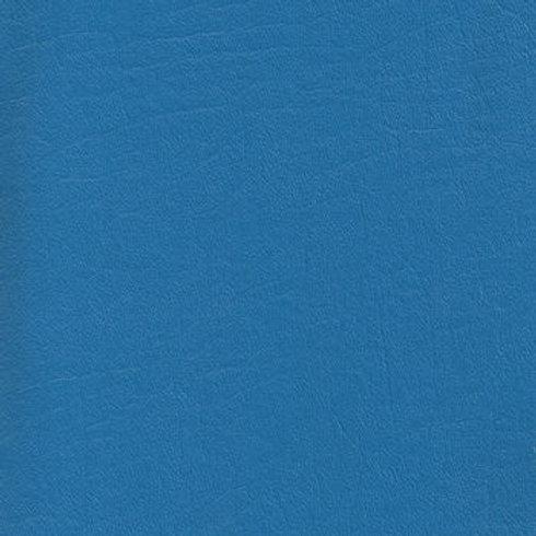 Vegan Leather Fabric - Medium Blue