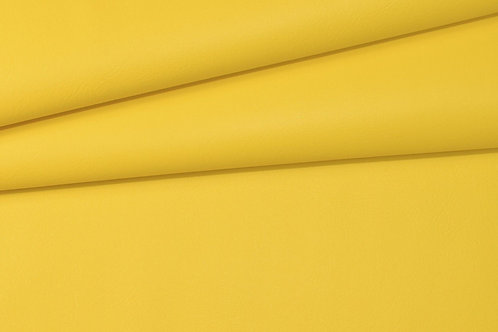 Vegan Leather Fabric - Yellow