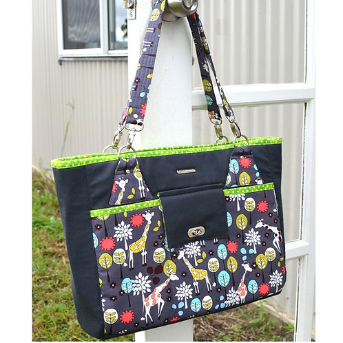 Stow It All Tote PDF pattern