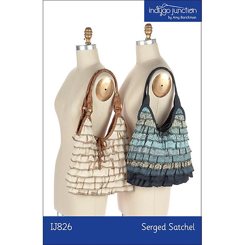 Serged Satchel