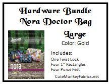 Nora Doctor Bag Hardware Bundle