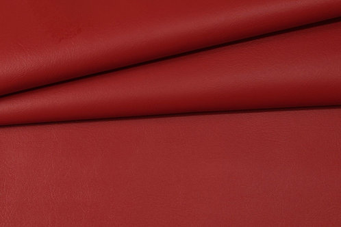 Vegan Leather Fabric - Red
