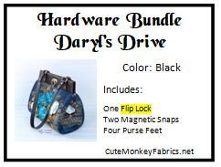 Daryl's Drive with Flip Lock Hardware Bundle
