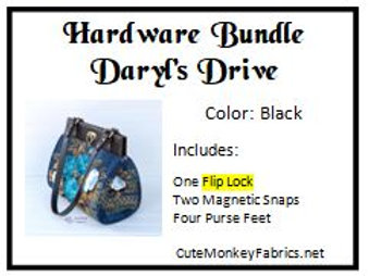 Daryl's Drive with Flip Lock Hardware Bundle