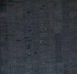 Cork Fabric - Black