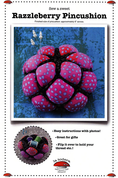 Razzleberry Pin Cushion