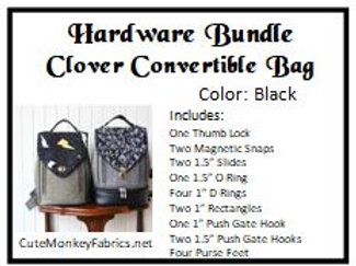Clover Convertible Bag Hardware Bundle
